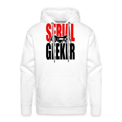 SERIAL GEEKER - noir - Sweat-shirt à capuche Premium pour hommes