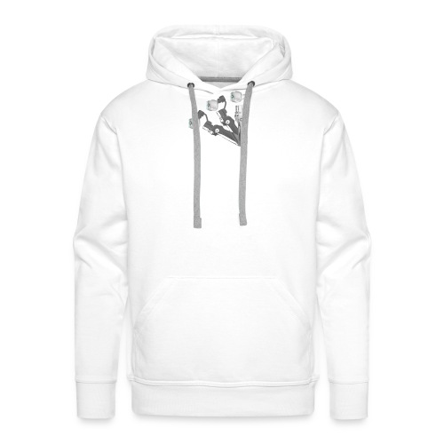 VivoDigitale t-shirt - DJI OSMO - Felpa con cappuccio premium da uomo