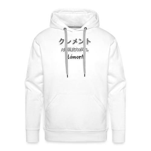Kureman - Sweat-shirt à capuche Premium pour hommes