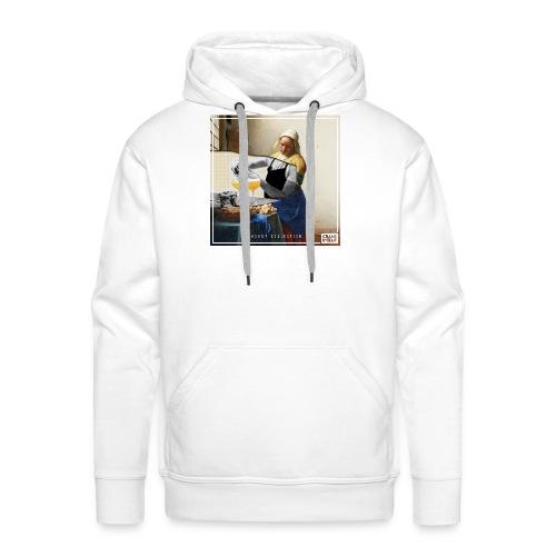 The Barmilkmaid - Sweat-shirt à capuche Premium pour hommes