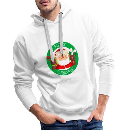 merry christmas 03 - Sudadera con capucha premium para hombre