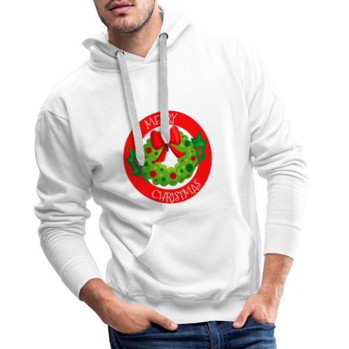 merry christmas 04 - Sudadera con capucha premium para hombre