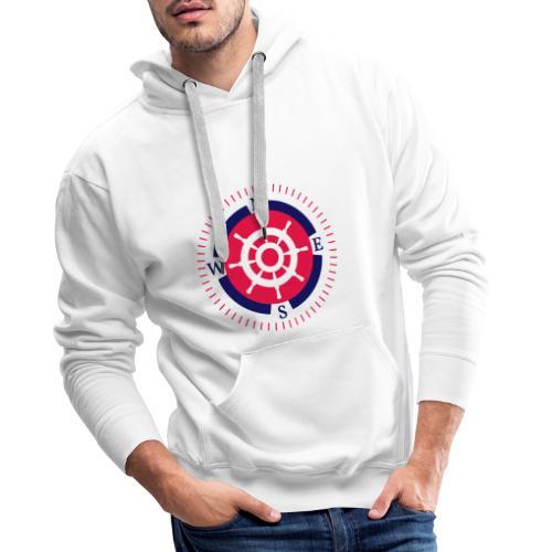 Direction - Sweat-shirt à capuche Premium pour hommes