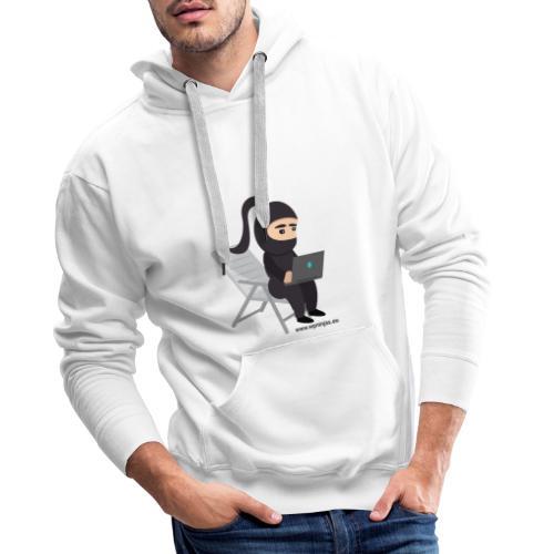 Ninja single Girl - Männer Premium Hoodie