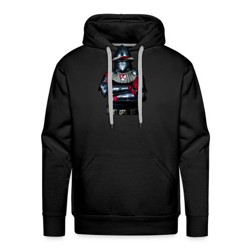 chevalier.png - Sweat-shirt à capuche Premium pour hommes