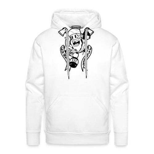 Lumber Jacques - Sweat-shirt à capuche Premium pour hommes