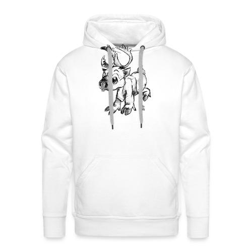 Caribou - Sweat-shirt à capuche Premium pour hommes