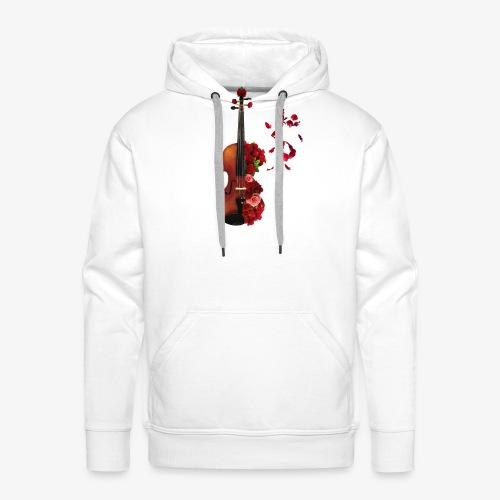 Rosen Violine - Männer Premium Hoodie