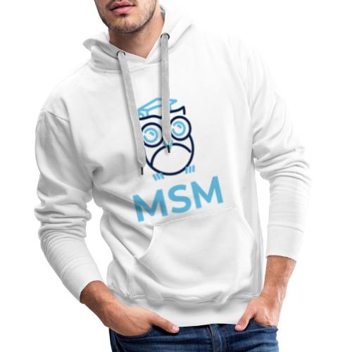 MSM UGLE - Herre Premium hættetrøje