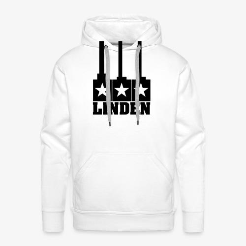 Linden-Logo - Männer Premium Hoodie