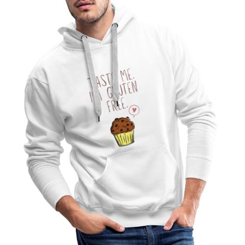 Taste me I'm gluten free - Männer Premium Hoodie