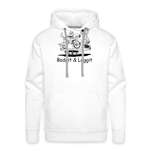 BGLOGOTEST gif - Men's Premium Hoodie