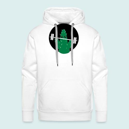 lifting cactus - Mannen Premium hoodie