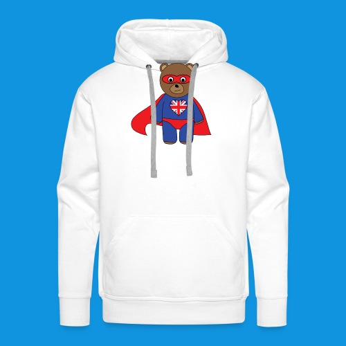 British Hero Bear tank - Men's Premium Hoodie