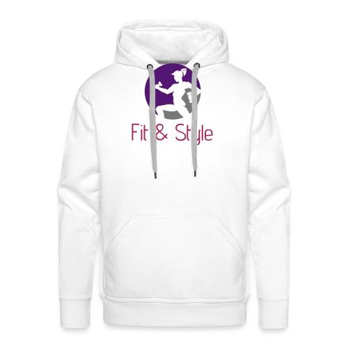 Fit & Style shirt - Mannen Premium hoodie