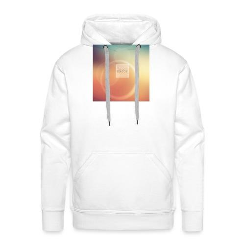 autumn coque png - Sweat-shirt à capuche Premium pour hommes