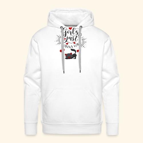CAT - Sweat-shirt à capuche Premium pour hommes