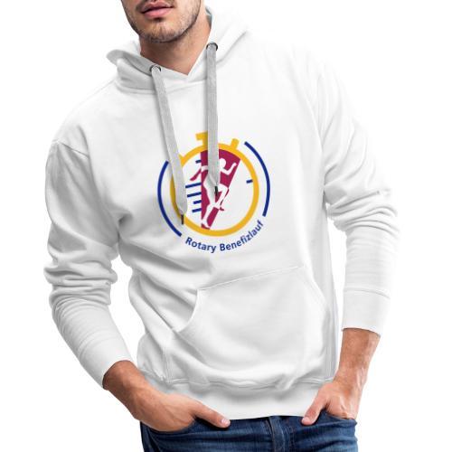 Rotary Benefizlauf Merchandise - Männer Premium Hoodie