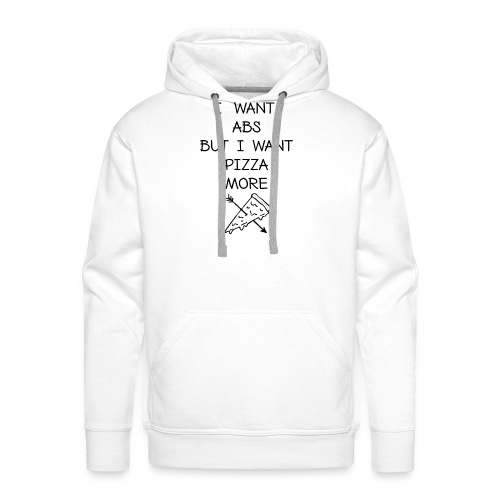PIZZA MORE - Männer Premium Hoodie