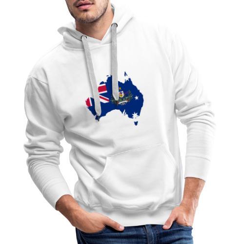 Australien Australia Kontinent Insel Urlaub - Männer Premium Hoodie