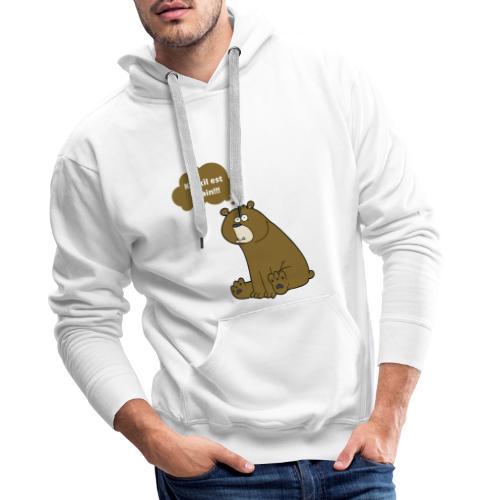 Vilain monsieur - Sweat-shirt à capuche Premium pour hommes