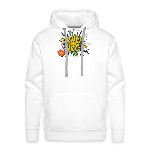 Raw Nrg comic 1 - Men's Premium Hoodie