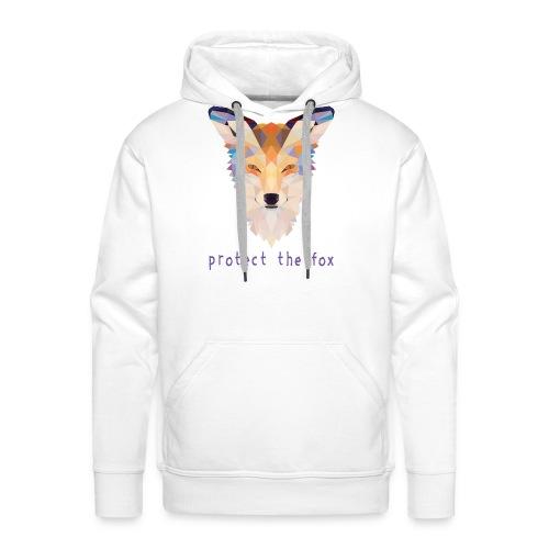 Protect Fox - Sweat-shirt à capuche Premium pour hommes