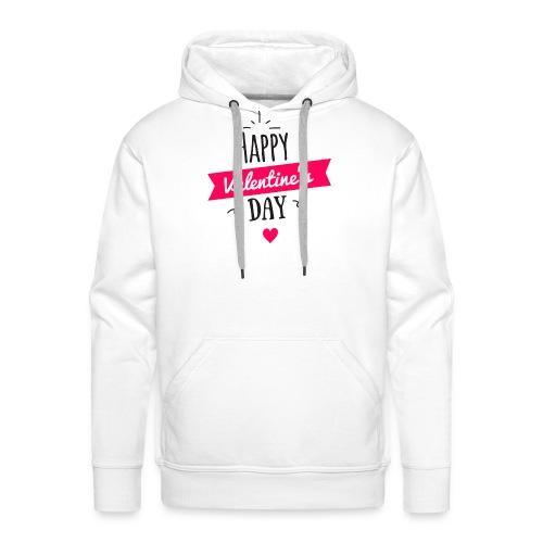 Valentinstag Liebe Freund Freundin Geschenk Idee - Männer Premium Hoodie
