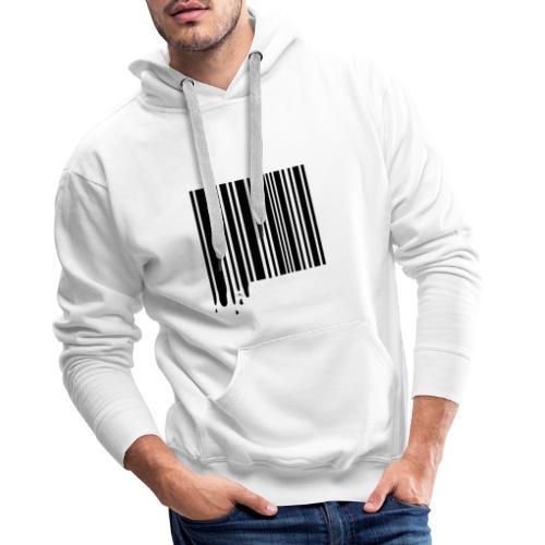 Barcode Black - Men's Premium Hoodie