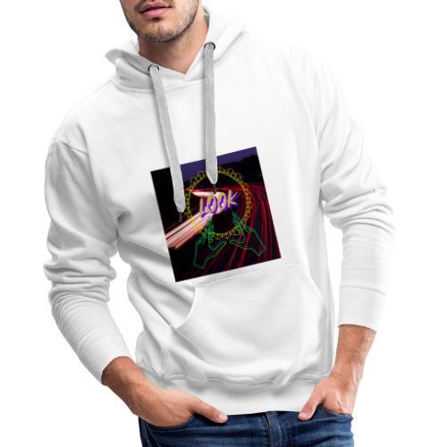 Look - Sudadera con capucha premium para hombre