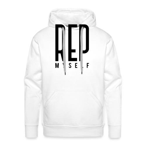 Represent Myself - Mannen Premium hoodie
