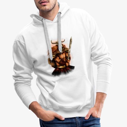 Bataille pour l'honneur - Sweat-shirt à capuche Premium pour hommes