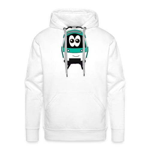 MF77 Smile - Sweat-shirt à capuche Premium pour hommes