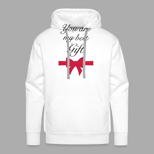 you are my best gift - Men's Premium Hoodie