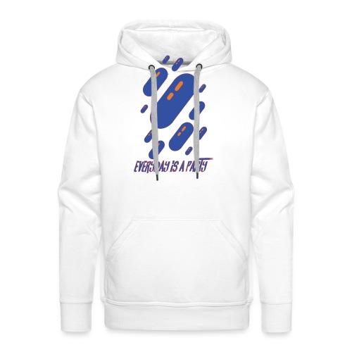 party day - Sweat-shirt à capuche Premium pour hommes