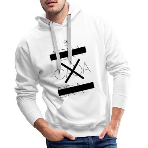 abra cada bra - Sweat-shirt à capuche Premium pour hommes