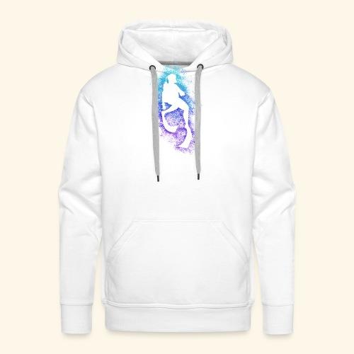 Plongeur - Sweat-shirt à capuche Premium pour hommes