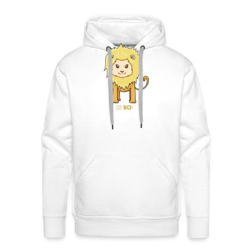 Le roi - Sweat-shirt à capuche Premium pour hommes
