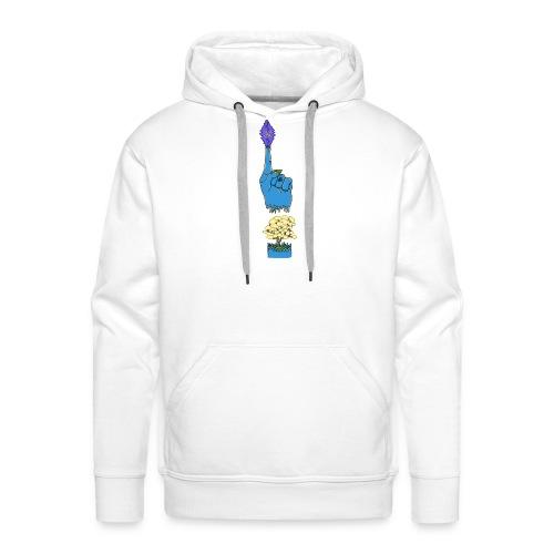 god hand - Sweat-shirt à capuche Premium pour hommes