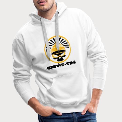 apres ski skull - Männer Premium Hoodie