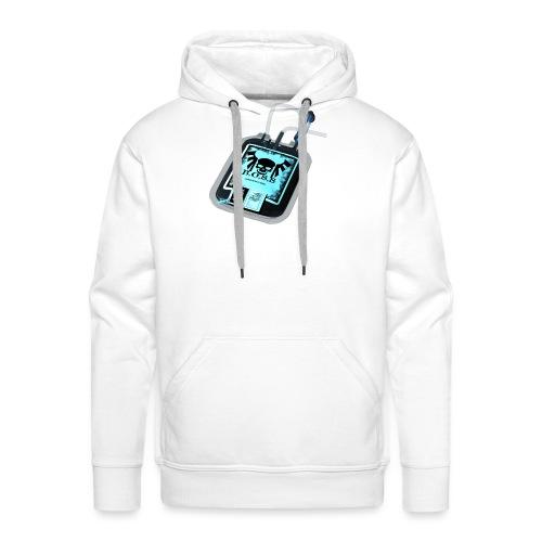 Plasma noir - Sweat-shirt à capuche Premium pour hommes