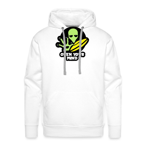 Alien Open your mind - Men's Premium Hoodie
