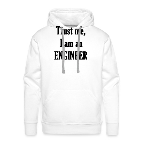 engineer / ingénieur - Sweat-shirt à capuche Premium pour hommes