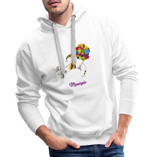 Mousspic - Sweat-shirt à capuche Premium pour hommes