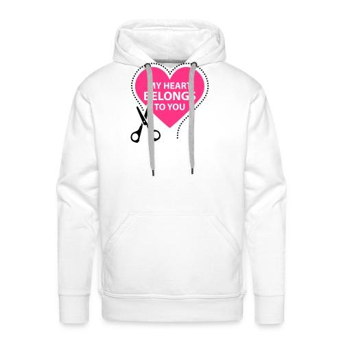 My Heart - Miesten premium-huppari