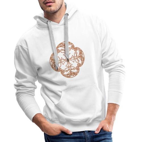 Anglian gold (Mellowed) - Men's Premium Hoodie