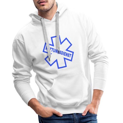 Rettungsdienst - Männer Premium Hoodie