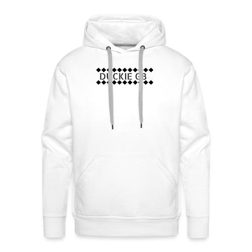 oie transparent 1 png - Sweat-shirt à capuche Premium pour hommes