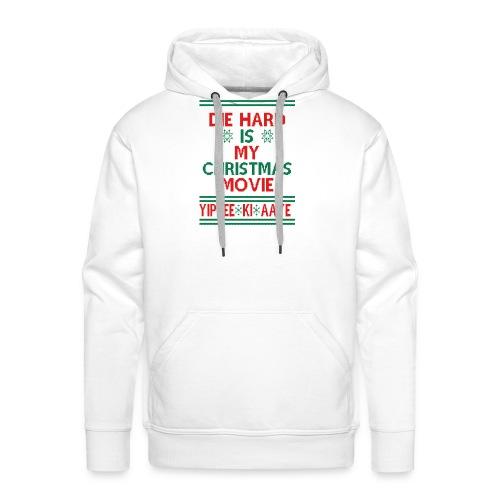 Die Hard Its Not Christmas - Miesten premium-huppari