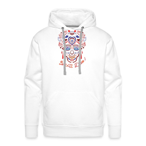 Skull Tattoo Art - Men's Premium Hoodie